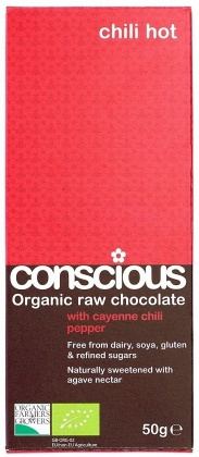 Chili hot, Conscious raw choklad