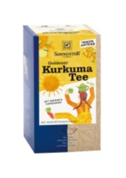 Gyllene Gurkmejate med ingefära och kardemumma - Sonnentor