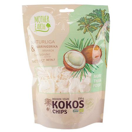Kokoschips, ekologisk