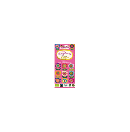 Ekorrens Mjölkchoklad med Hallon och Citron, ekologisk