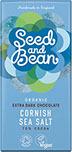 Mörk choklad med Havssalt, Seed and Bean