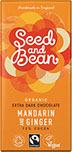 Mörk choklad med Mandarin och Ingefära, Seed and Bean