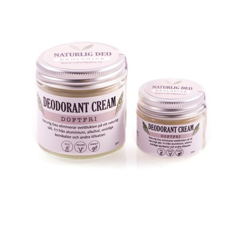 Deodorant kräm Doftfri