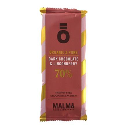 Ö Mörk Choklad med Lingon