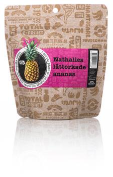 Lättorkad Ananas, Nathalies ekologisk