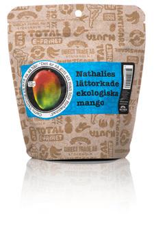 Lättorkad Mango Nathalies, ekologisk