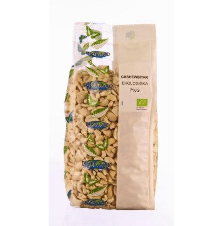 Cashewnötter i bitar, ekologiska