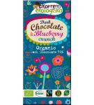 Ekorrens Mörk choklad med Blåbärskrisp, ekologisk